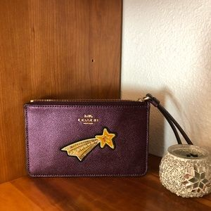 Coach Shooting Star Wristlet